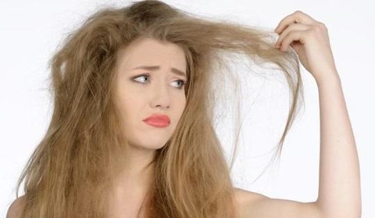 Волосы сухие и поврежденные