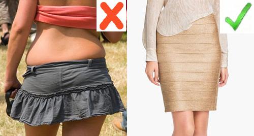 Какую одежду стоит избегать пышным женщинам